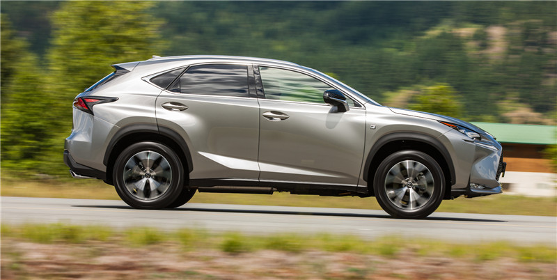 Lexus-NX-profile-driving