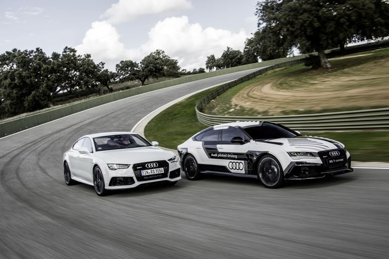 Audi piloted driving @ the limit ? Ascari 2014