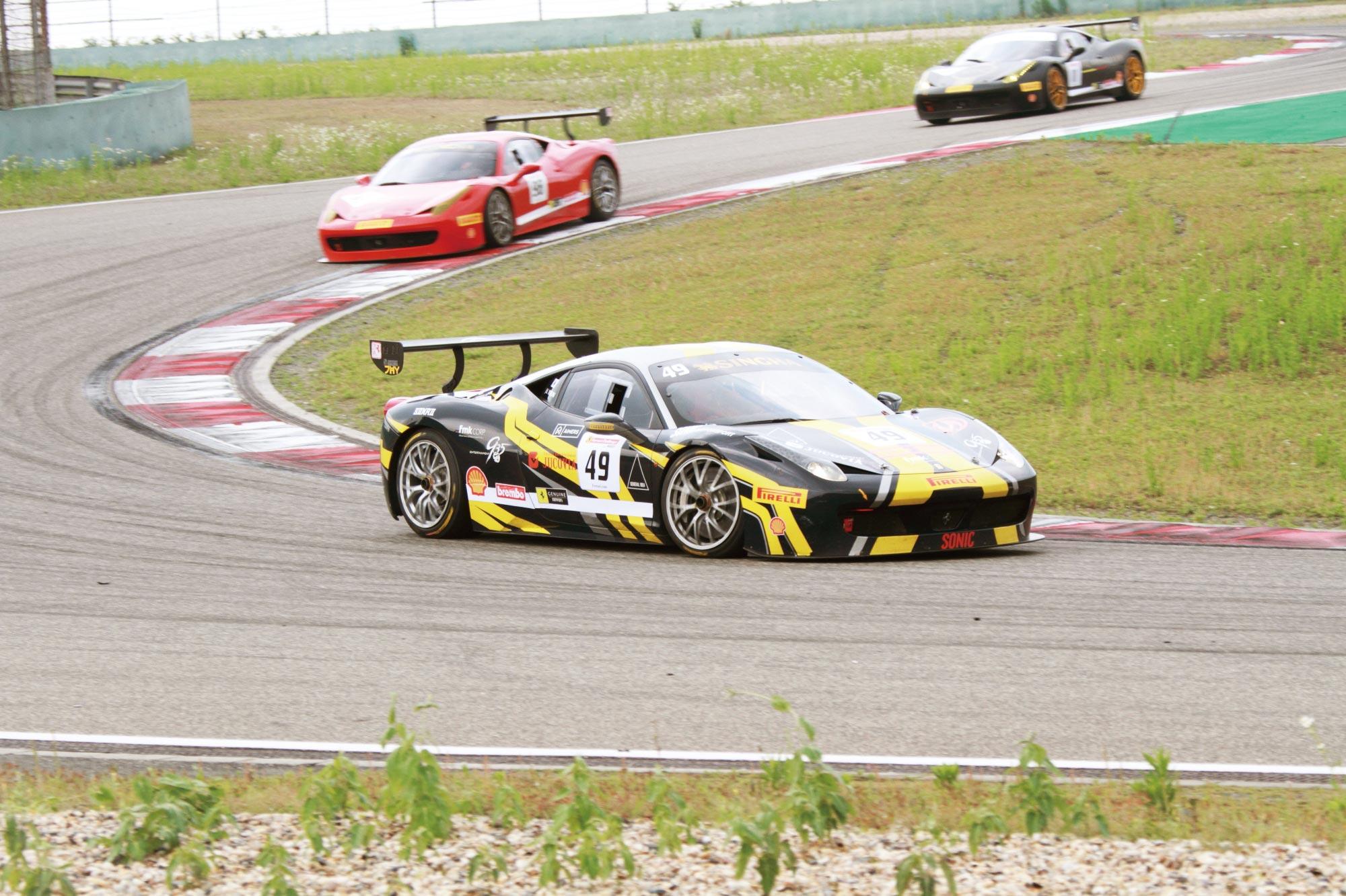 """""""1050匹马""""蹂躏上赛道—Ferrari FXX 004"""