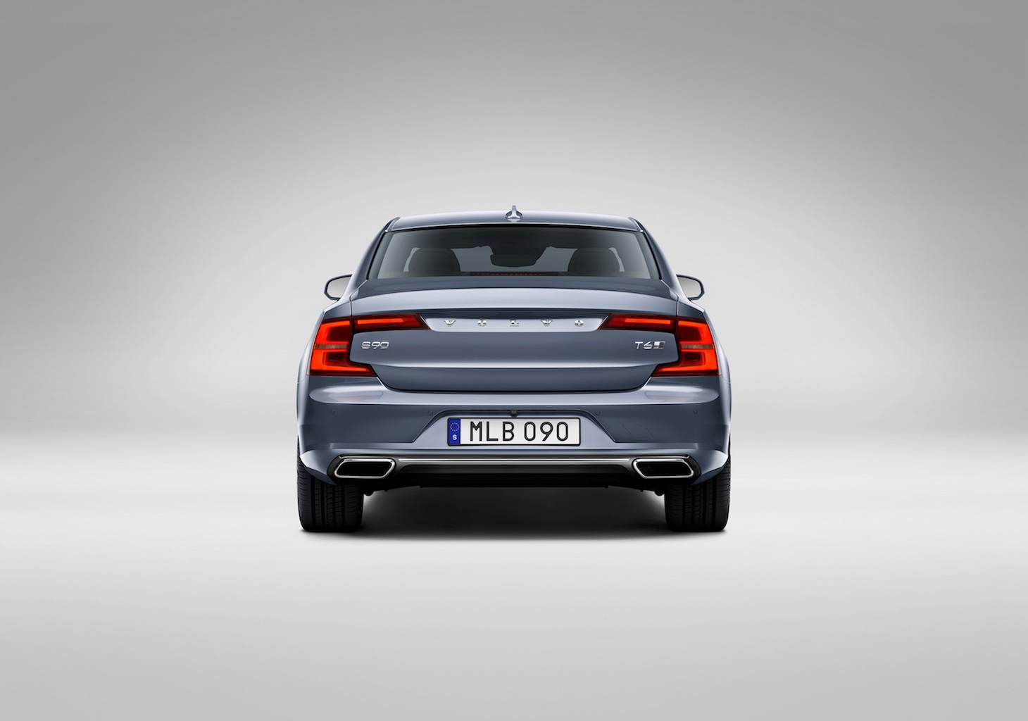 Rear Volvo S90 Mussel Blue