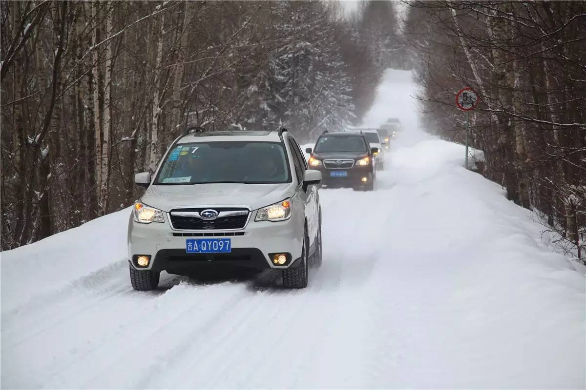 驭雪 从容 ——斯巴鲁举办冬季安全试驾会 004