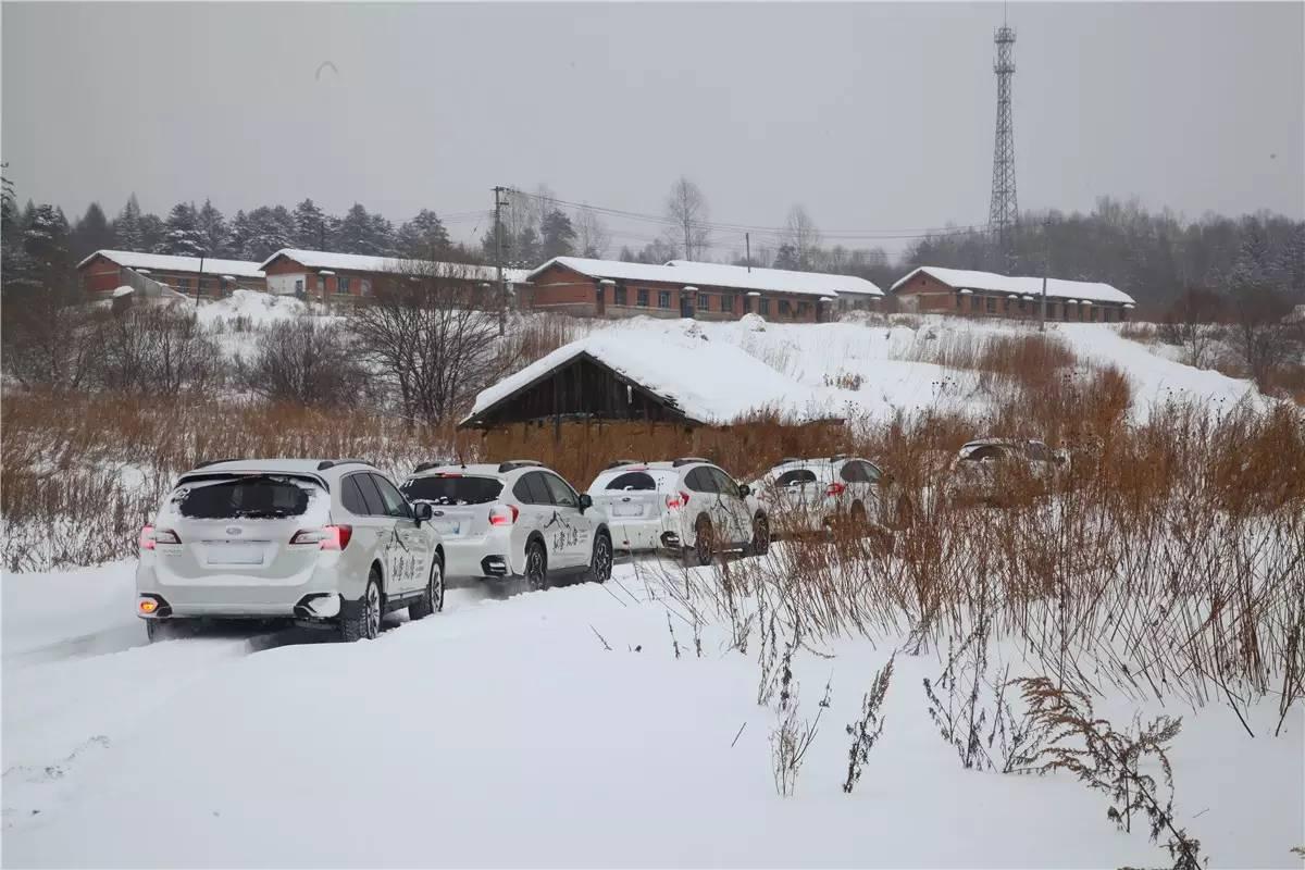 驭雪 从容 ——斯巴鲁举办冬季安全试驾会 008